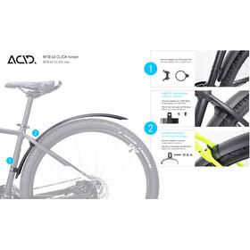 """Cube ACID MTB 60 Click Skærm 27,5""""-29"""" baghjul, black"""